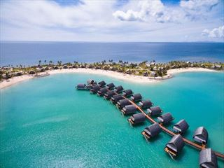 Fiji Marriott Resort Momi Bay aerial view