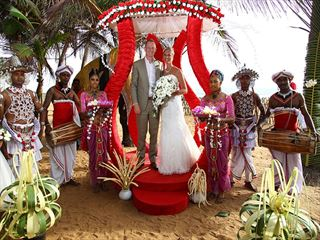 Traditional Sri Lanka wedding