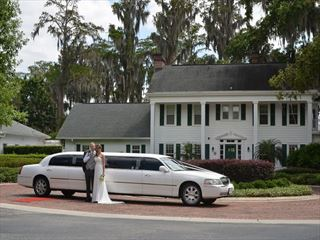 Your private limousine at Cypress Grove