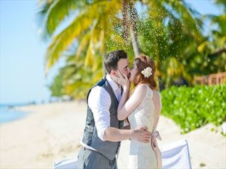 Wedding celebration at Lux Le Morne