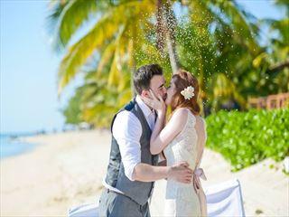 Wedding celebration at Lux Le Morne