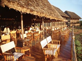 Terrace of Ngutuni Safari Lodge