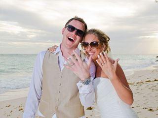Bride & Groom at Sea Breeze Barbados