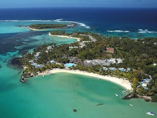 Aerial View of Shandrani Beachcomber Resort & Spa