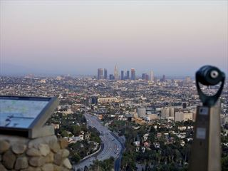View of Los Angeles from Hollywood Hills