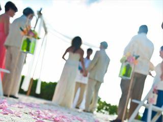 A wedding at Hawks Cay