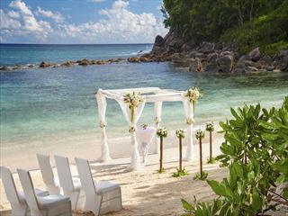 Wedding setting at AVANI Seychelles Barbarons Resort & Spa