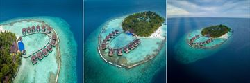 Aerial View at Ellaidhoo Maldives by Cinnamon