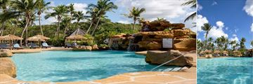 The pool at Galley Bay Resort & Spa