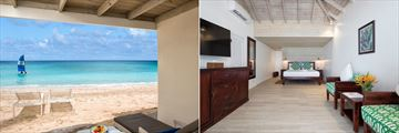 Superior Beachfront Room at Galley Bay Resort & Spa
