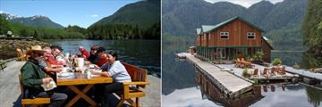 Great Bear Lodge, Al Fresco Dining and Great Bear Lodge Exterior