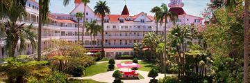 Hotel Del Coronada Gardens