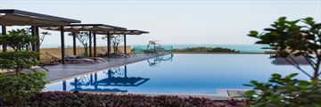 The Infinity Pool at JA Ocean View Hotel
