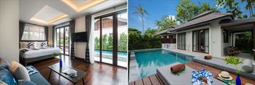Peace Resort Koh Samui Sea Breeze Pool Villa and exterior
