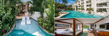 Crystal Lagoon Swim-Up One Bedroom Suite at Sandals Barbados