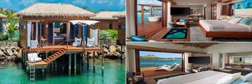 Over the Water Honeymoon Butler Bungalow at Sandals Grande St Lucian