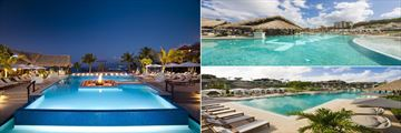 The pools at Sandals Grenada