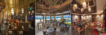 Dining at Sandals Royal Barbados
