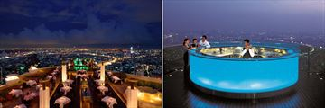 Sirocco Bar and Sky Bar, Lebua