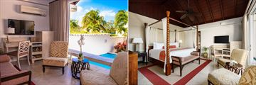 Luxury Almond Pool Suite at Spice Island