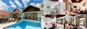 Royal Collection Pool Suite at Spice Island