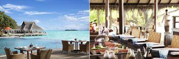 Poolside Restaurant and Teppanyaki at 24 Degrees Restaurant at Taj Exotica Resort & Spa