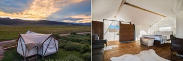 Under Canvas Yellowstone Suite Tent