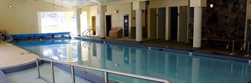 Indoor Pool, Waterton Lakes Lodge Resort