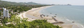 Beach in Hua Hin Thailand