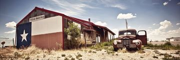 Abandoned Route 66 Restaurant, Texas