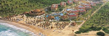 Dreams Punta Cana Resort & Spa, Aerial View of Resort