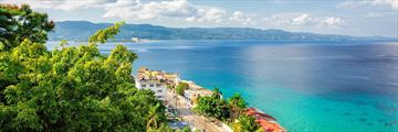 Aerila View of Montego Bay Jamaica