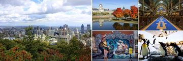 Landscapes and attractions of Montreal, Quebec