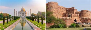 Taj Mahal & Agra Fort, Agra