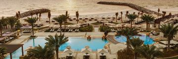 The Pool and beach at Ajman Saray, A Luxury Collection Resort