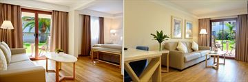 Junior Suite and Two Bedroom Suite at Alua Suites