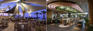 Limanaki Restaurant and Kalypso Restaurant at Amathus Beach Hotel