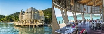 An Lam Retreats Ninh Van Bay, SEN Restaurant Exterior and Interior