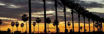 Anaheim at sunset