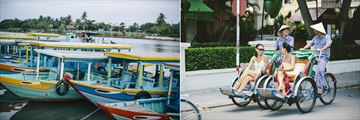 Anantara Hoi An, Thu Bon River Cruise and Siclo Tour