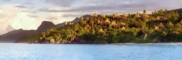 Anantara Maia Seychelles Villas, View of Villas and Beach
