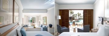 Studio Suite with Pool and Terrace with Sea View Room at Annabelle