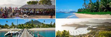 Shirly Heights Antigua, Pinneys Beach Nevis, English Harbour Antigua, Nevis Jetty
