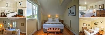 Selection of Bedrooms at Arcadia Lodge