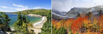 Arcadia National Park & The White Mountains in New Hampshire