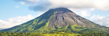 A view of Arenal Volcano in Costa Rica