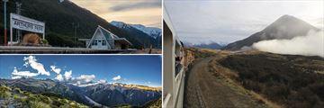 TranzAlpine Rail Journey, New Zealand