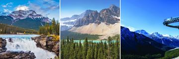 Athabasca in Jasper, Lake Louise & Glacier Skywalk