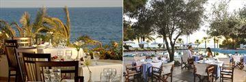 Pygmalion Restaurant and Olive Tree Restaurant at Constantinou Bros Athena Royal Beach Hotel
