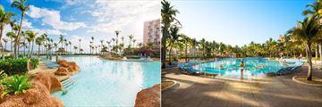 Atlantis Paradise Island, The River Pool and Sundial Pool